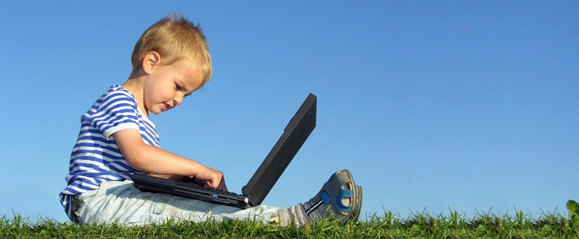 Computer w kid R