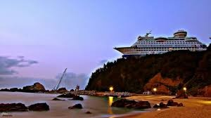 Odd Cruise Ship Photo