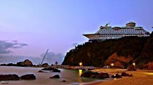 Odd Cruise Ship Photo