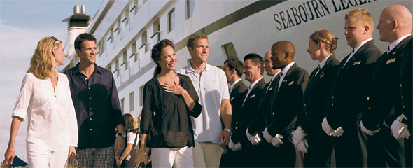 Seabourn Crew Greeting A
