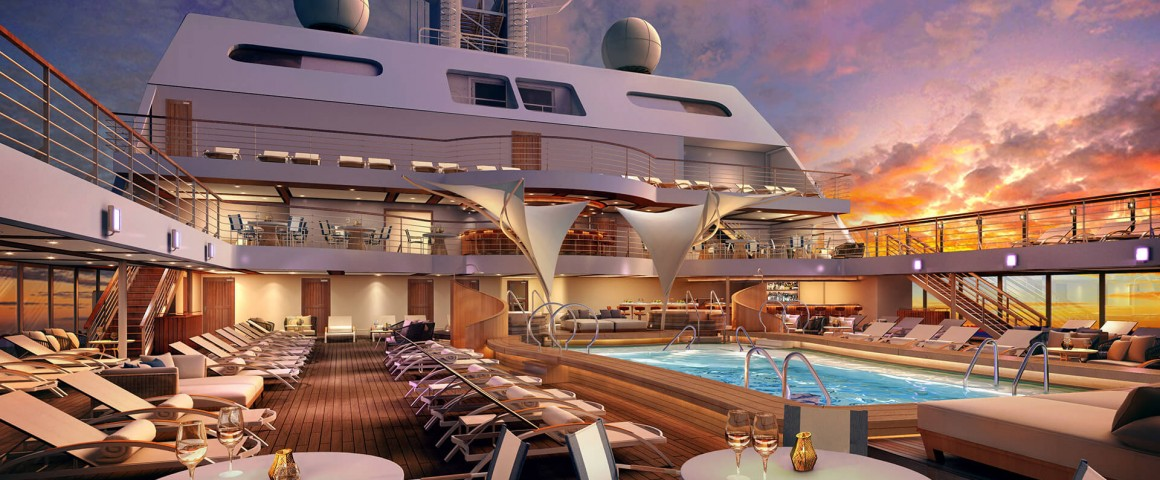 Seabourn Encore Pool  A