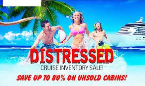 Cruise Distressed Sale