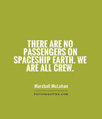 Quote we are all crew